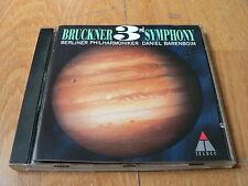 Daniel Barenboim - Bruckner : Symphony No. 3 - CD Teldec 1996