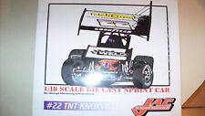 Jac Haudenschild #22 TNT 1/18 GMP Sprint Car