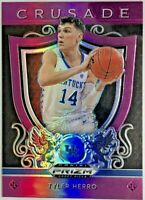 2019-20 Panini Tyler Herro Silver Prizm Purple Rookie Card Rc Miami Heat 🔥📈
