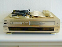 JVC HR-DVS1 miniDV- / S-VHS-Videorecorder inkl. FB&BDA, 2 Jahre Garantie
