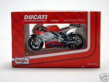 31582 Maisto 1:18 Valentino Rossi Motorbike Ducati Moto GP12 #46 Toy Gift Boxed