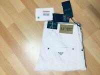 NWT Mens Armani Jeans J08 SALVAGE Denim White Regular Slim W31 L32 H7.5 RRP£169