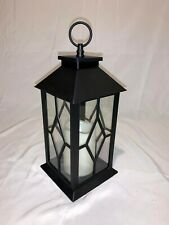 BANBERRY DESIGNS Black Decorative Lanterns with a Flameless Candle (Set of 6)