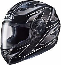HJC CS-R3 Full Face Motorcycle Helmet Spike MC-5 Size Large DOT