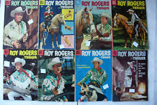 Roy Rogers comic books silver age lot 8 issues good very good Schwinn advertise