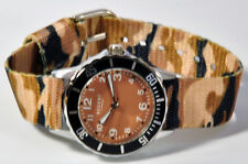 Regent Child's Wristwatch Brown Camouflage With Fabric Tape Wrist Watch