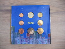 Belgio KMS 2000 - 1 cent a 2 EURO