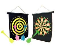15 Inch Magnetic Dart Board Magnet Reversible Dart Board Two-Sides With 4 Darts