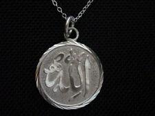 COOL Beautiful Sterling Silver 925 Arabic Allah Pendant Islam Muslim Charm Jewel