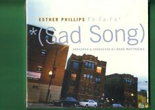 ESTHER PHILLIPS - FA FA FA SAD SONG CD DIGIPACK NUOVO SIGILLATO
