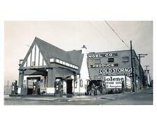 1941 Pure Oil Gas Station Photo Asheville NC Gas Pump Tiolene ch2468