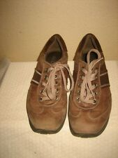 Ecco Browm Leather Fashion Sneakers Lace Up Shoes Shoe Size 40 US 9-9.5