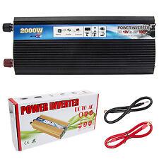 Car Power Inverter 2000W Power DC12V to AC 220V-240V Converter