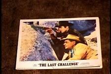 LAST CHALLENGE 1967 LOBBY CARD #2 GLENN FORD