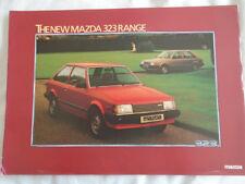 Mazda 323 range brochure Dec 1980