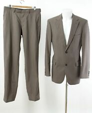 HUGO BOSS Anzug Gr. 98 (M Schlank) 100% Wolle SUPER 100'S Business Suit