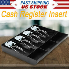 Cash Register Drawer Box Tray Replacement Cashier With Clip For Store Supermarket