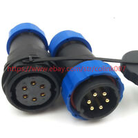 SD28 6PIN WATERPROOF CONNECTOR,INDUSTRIAL POWER PLUG AVIATION BULKHEAD CONNECTOR