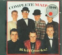 Madness - Complete Madness 16 Hit Tracks! Cd Ottimo