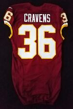 #36 Su'a Cravens of Washington Redskins Nike Team Issued Jersey