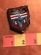 Vtg YUKON TERRITORY Canada Patch 86I4