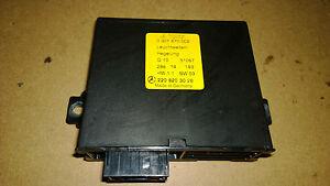 MERCEDES W220 S500 HEADLIGHT CONTROL MODULE S320 S430 S55 S600 2208203026