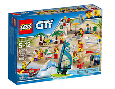 LEGO CITY PACK DE MINIFIGURAS: DIVERSION EN LA PLAYA SET 60153 NUEVO