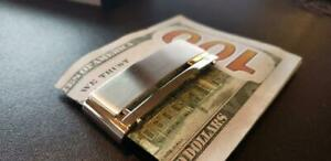 Dolan Bullock Money Clip Stainless Steel & 18K Gold Melbourne Collection