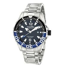 GIANTTO GM3 Diver Limited Edition Automatic Skeleton Watch BLACK/BLUE MSRP $750