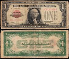 *SCARCE* 1928 $1 RED SEAL United States Note! FREE SHIPPING! A00107308A