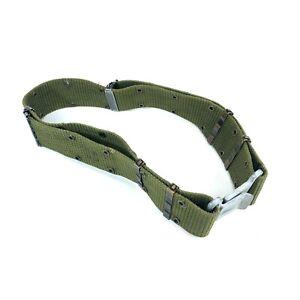 USGI ALICE LC-2 Pistol Belt, Medium, OD Green, Military Utility Belt, DEFECT