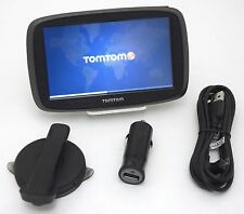 NEW TomTom GO 50S 50-S GPS Car Navigation LIFETIME 3D MAPS & Traffic Set USA/Can