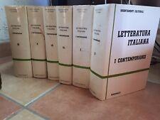 LETTERATURA ITALIANA I CONTEMPORANEI MARZORATI