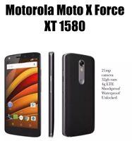 MOTOROLA Moto X Force XT1580 Black Unlocked smartphone