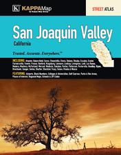 San Joaquin Valley CA ADC Map Street Atlas