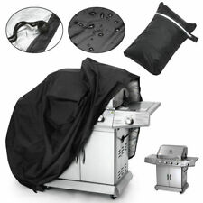 """57"""" BBQ Gas Grill Cover Gas Barbecue Waterproof Outdoor Protection Black US"""
