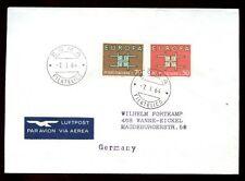 ITALIA 1964 COPERTINA alla Germania #C 6283