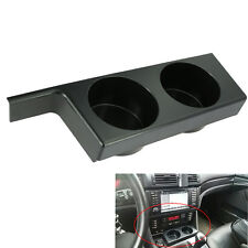 Black FRONT CUP HOLDER for BMW E39 4-Door 1997-2003 528i 525i 530i 540i M5