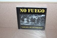 No Fuego Outnumbered NEW SEALED CD