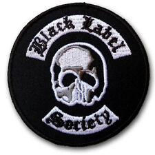 Black Label Society Patch Iron On BLS Heavy Metal Band Music Punk Rock Sew Easy