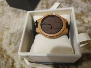 Mens Treehut NEW Wooden Watch