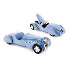 NOREV 1937 PEUGEOT 302 DARL MAT ROADSTER BLUE METALLIC 1/18 MODEL CAR 184821