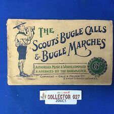 Boy Scouts' Bugle Calls & Bugle Marches Sheet Music Booklet