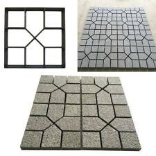Path Maker Mold Reusable Concrete Cement Stone Design Paver Walk Mould 15.75×15.