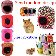 Small Pets Bird Hamster Ferret Rat Squirrel Hammock Hanging Cage Nest Bed House