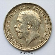 More details for 1919 king george v silver .925 shilling coin. high grade with good detail.