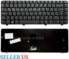 Keyboard Spanish HP Compaq CQ40 CQ41 CQ45 486904-161 PK1303Y0900 Black