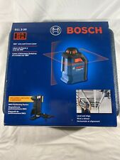 Bosch Gll 2-20 65ft 360 Degree Line and Cross Laser - Brand New!