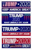 Donald Trump Bumper Sticker 2020 Make Liberals Cry Again Sticker Pack