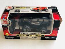 R/C Vehicle Radio Control Sport Vehicle - Jeep Hummer - Black (no 2424)